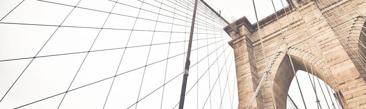 Bridge with wires