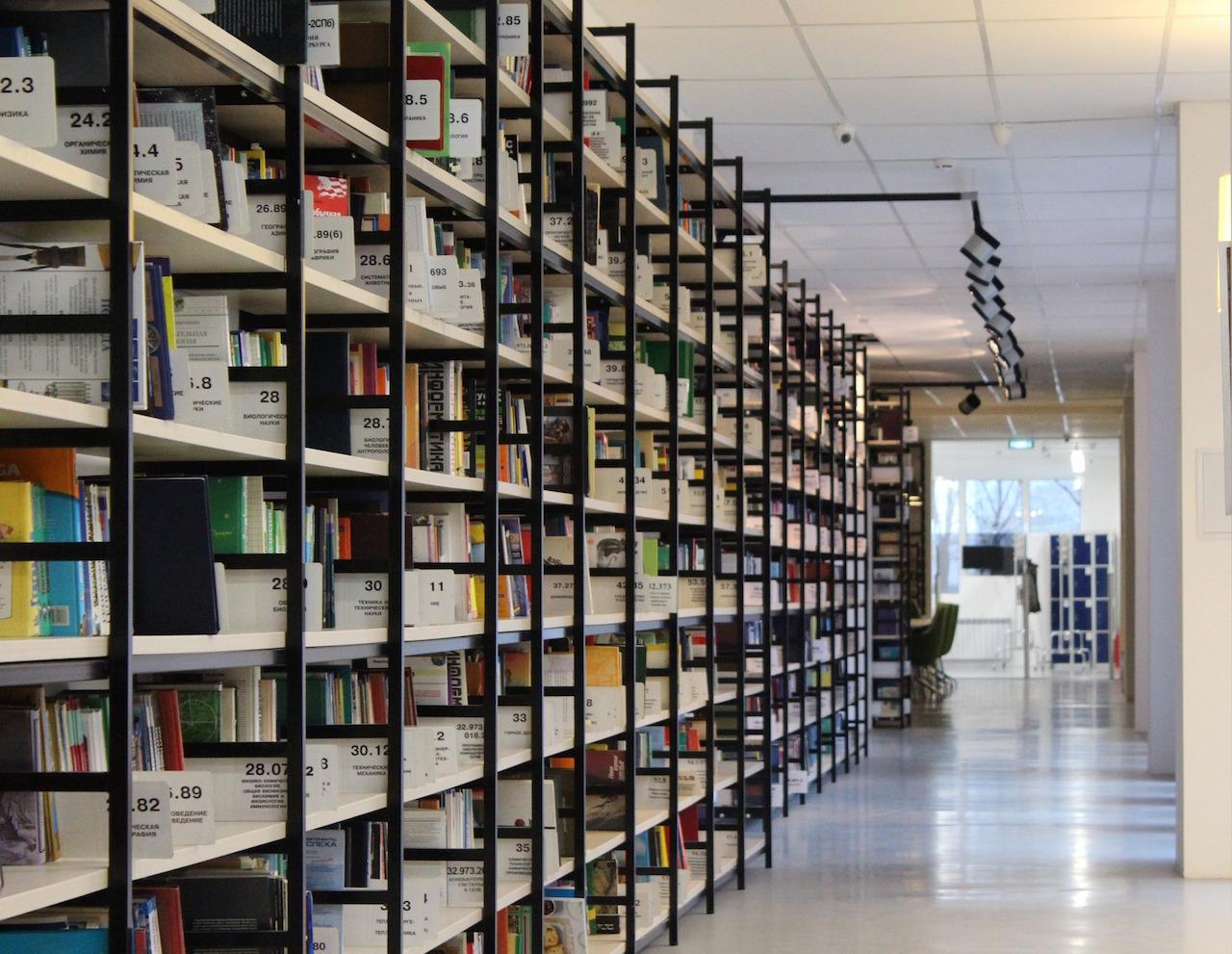 Masterarbeit: Literaturrecherche in der Bibliothek