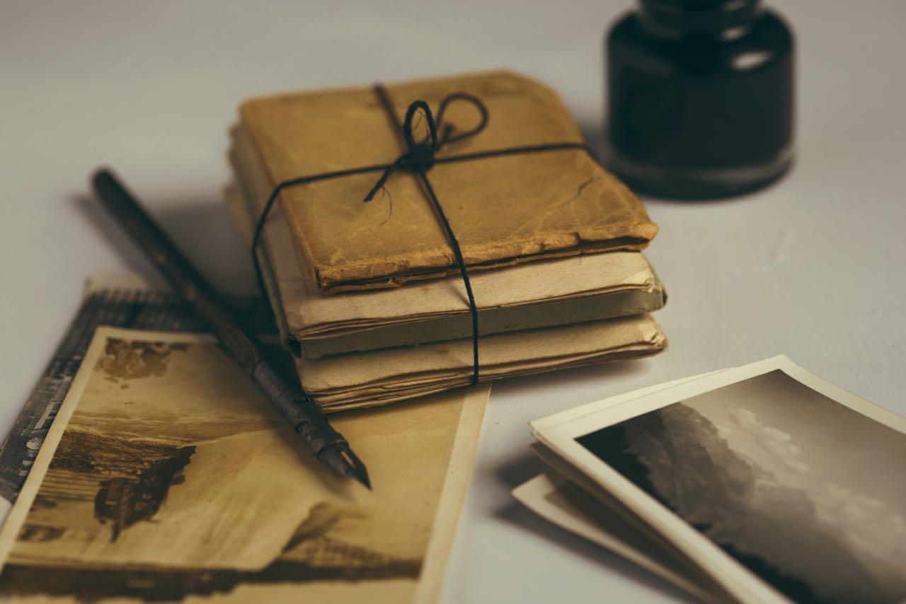 Hochwertige Texte auf Postkarten und Briefen